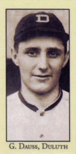 George Dauss baseball card