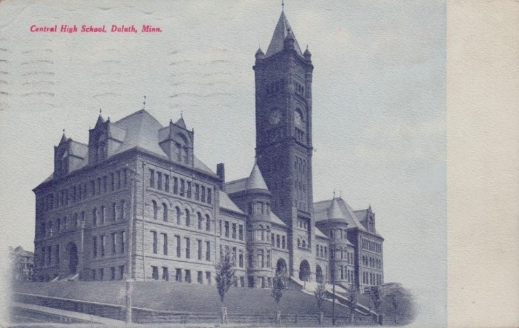 Central 1909 Duluth front
