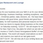 R.I.P. Epic Restaurant and Lounge