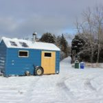 Hiki Hut: Duluth's little blue sauna on a trailer