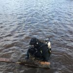 St. Louis River estuary cleanup includes lots of lumber